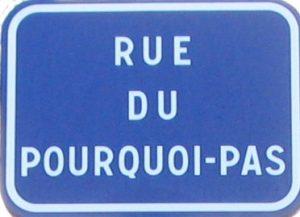 Rue du Pourquoi -Pas